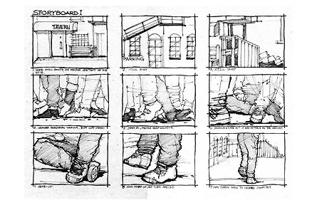 Pography Storyboard | Kai Photography Storyboard